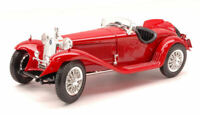Model Car vintage diecast Burago Alfa Romeo 8 C 2300 Spider Scale 1:18 Coche