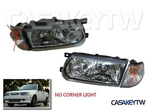 New 1991 92 93 1994 Only Clear Headlights Lamp For Nissan B13 Sentra
