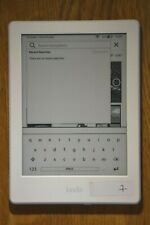 "Amazon Kindle 8th Generation SY69JL 6"" 4GB Bluetooth Audiobooks eReader"