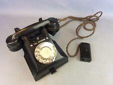 GPO Black Bakelite Vintage Exchange Telephone Ship Worldwide