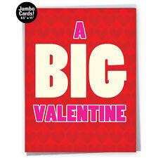 J5147VDG Jumbo Greeting Card: Big Valentine with Envelope