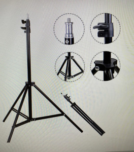Telescopic Tripod Stand For Digital Camera Camcorder Phone Holder & iPhone 6ft