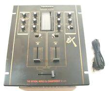 Technics SH-EX1200 scratch DJ The Official World Championship Mixer DMC audio