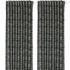IKEA TIBAST Grau 30396740 Gardinenpaar 145x300 Gardinen Vorhang Vorhänge  Schals