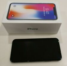 Apple iPhone X (iPhone 10) 256gb Spacegrau Smartphone Locked-Vodafone Netz