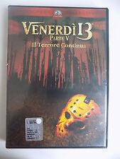 DVD - VENERDI' 13 PARTE V IL TERRORE CONTINUA - 1985  A8