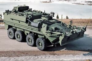 HO 1:87 Trident # 87124 Bison Armored Personnel Carrier Engineering - Resin KIT