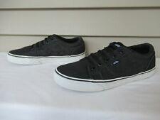 VANS Men's Size 9 TC6D Black Low Top Off the Wall Canvas Sneakers Skate Shoes