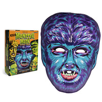 The Wolfman Mask Universal Monsters Eerie Blue Version New in Retro Box