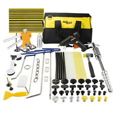 PDR Paintless Dent Puller Lifter Removal Hail Rods Tools Glue Hammer Repair Kit