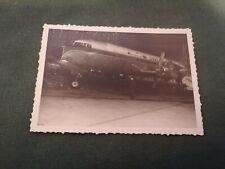 ancienne photo - avion