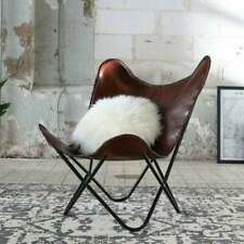 Beautiful Leather Butterfly Chair For Living Room And Bed Room Furniture Chair
