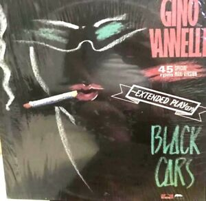 """PHILIPPINES GINO VANNELLI  BLACK CARS  12"""" EXTENDED PLAY LP RARE"""