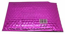 "Metallic Bubble Mailer Pink, 6.8""x6.5 12pk"