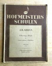 J.B. ARBAN Vollständige Schule für Cornet à pistons und Flügelhorn Teil I