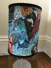 portland musuem of art zebra animal lamp