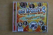 So Fresh: The Hits Of Autumn 2012 CD+DVD  - Drake, Rihanna, Lady Gag  (Box C298)