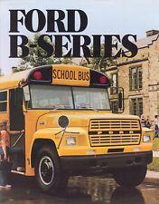 1983 Ford B-Series B-600 B-700 B-7000 School Bus Brochure