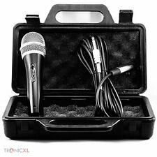 Dynamisches Profi Metall Mikrofon Microfon + Koffer Case + 5m 6,35mm Kabel