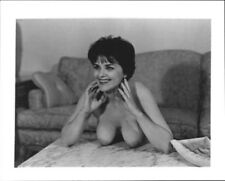 1960s Vintage 4x5 Photo - BUSTY Topless - #1