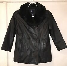 Leather Jacket Boys Small