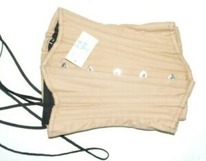 Glamorous Corset Cotton Waist Training Underbust  lacing Size 18