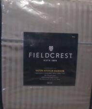 Fieldcrest  Satin Stitch Damask Sheet Set 500 Thread Count Skyline Gray (Full)
