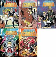 Jersey Gods #7-11 (2009-2010) Limited Series Image Comics - 5 Comics
