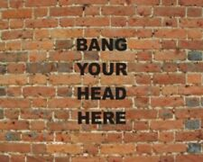 Bang Your Head Here Mouse Mat Gifts, Mothers Day, Gift, Idea Occasion, Gift,