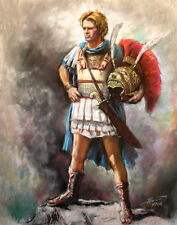 Alexaner The Great, Art print on Canvas by Star