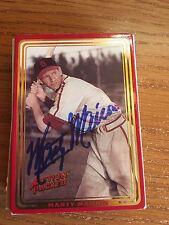 St Louis Cardinals Marty Marion Autograph Signed Auto Card