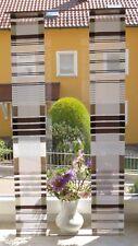 Scheibengardinen 2 x  Breite 14 cm x Höhe 92 cm -  neu  - modern