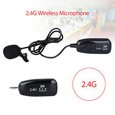 2.4g Lavalier Wireless Microphone Rechargeable Voice Amplifier Portable Pocket