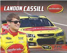 "2015  LANDON CASSILL #40 CARSFORSALE.COM ""SPRINT CUP SERIES"" POSTCARD!!"