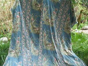 Huge vintage chintz curtains
