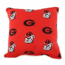 "Georgia Bulldogs Outdoor Decorative Pillow 16"" x 16"""