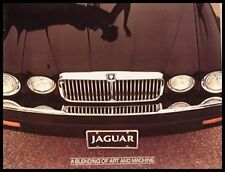 1981 Jaguar Prestige Dealer Car Sales Brochure XJ6 Series III Original Xlnt 81