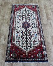 Old Handmade Persian Abade Runner 145 x 65 cm