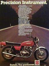 SUZUKI GS-750 Original Motorcycle Ad 1979 750 GS750