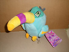 NEN Sugar Loaf Luv Birds Toucan Plush Stuffed Toy 2013  NWT 8 IN