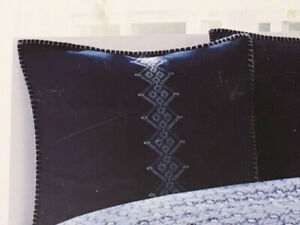 Echo Euro Pillow Sham - Shibori Navy