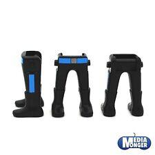 Playmobil ® 2 x piernas con botas negro | azul rayas | garde | soldado ww2