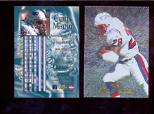 1997 CE Collectors Edge Masters CURTIS MARTIN New England Patriots Card