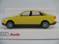 Rietze/Audi 13.225.3 Audi A6 2.8 quattro Lim. (1997) in gelb 1:87/H0 NEU/OVP