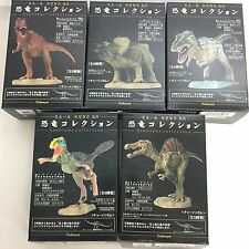 Kazunari Araki Dinosaur Collection Figure 5pcs + Seismosaurus Set Kabaya Japan