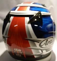 Arai Quantum 2 Spike Blue Orange NO SALES TAX option motorcycle helmet KTM Sm XL