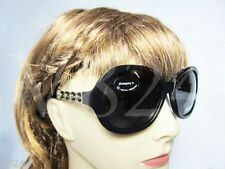 BALLY SUNGLASSES BY2004A00 BY 2004A - BLACK GOLD / GREY - BY2004A-00