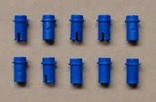 x10 NEW Lego Technic Axle Pin 1/2 BLUE