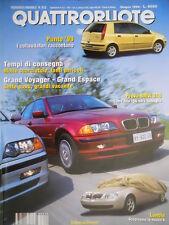 Quattroruote 512 1998 Chrysler Voyager 2.5 TD LE. Nuova Lancia K. Punto '99 Q.56