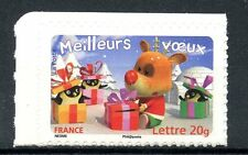 STAMP / TIMBRE FRANCE  N° 3987 ** MEILLEURS VOEUX / AUTOADHESIF